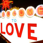 Welcome to love vegas sign