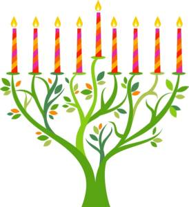 candles, tree, ULC, Jew, Judaism, menorah