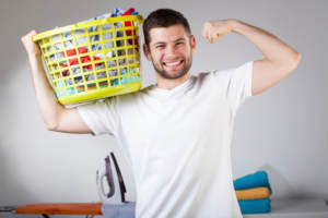 Household chores are often a source of tension in relationships.