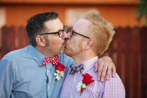 Two men who found in each other a forever partner