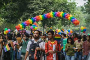 LGBTQ Indians celebrating