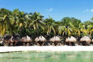 An all-inclusive beachfront honeymoon