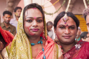 LGBTQ Indian women posing for photo