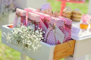 Wedding shower gift bags
