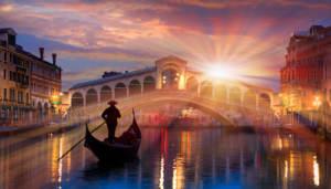 A memorable honeymoon on the Venice waterways