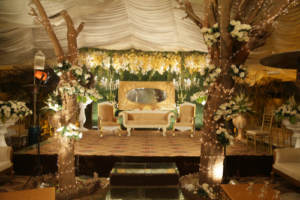 A micro wedding venue waiting for guests