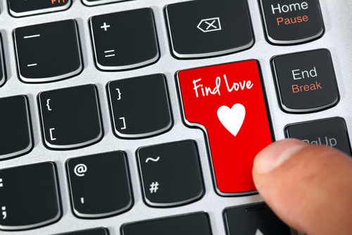Dating online is a popular method while practicing social distancing